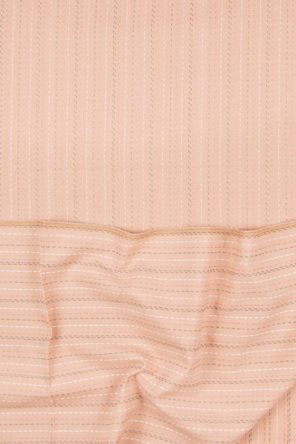 Cotton Straight-Stitch in Beige