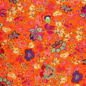 Orange Viscose Knit