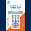 Schmetz Chrome Carded Universal Needles in Size 80/12