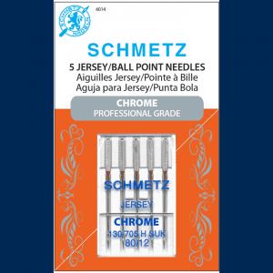 Schmetz Chrome Jersey Needle 80/12