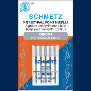 Schmetz Chrome Jersey Needle 90/14