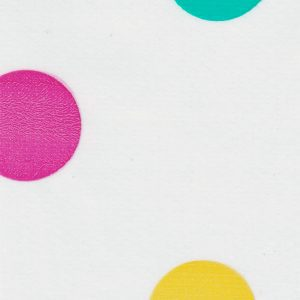 Oilcloth in Big Dots Purple