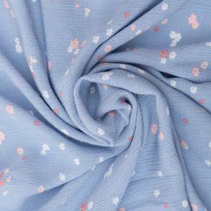 RK Crinkled Rayon in Blue