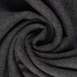 RK Seawool Melton in Black