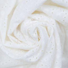 Eyelet in White