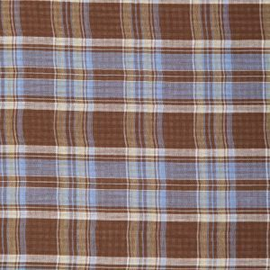 Plaid Double Gauze in Brown
