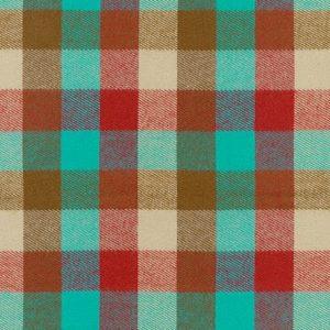 Durango Flannel in Teal