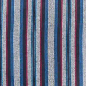 Taos Striped Flannel in Pimento