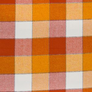 Mammoth Flannel in Rust and Pumpkin