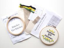 JD Snitches Get Stitches Cross Stitch Kit