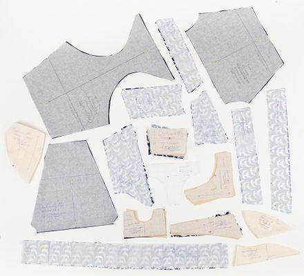 Ipswich Swimsuit Pattern Pieces