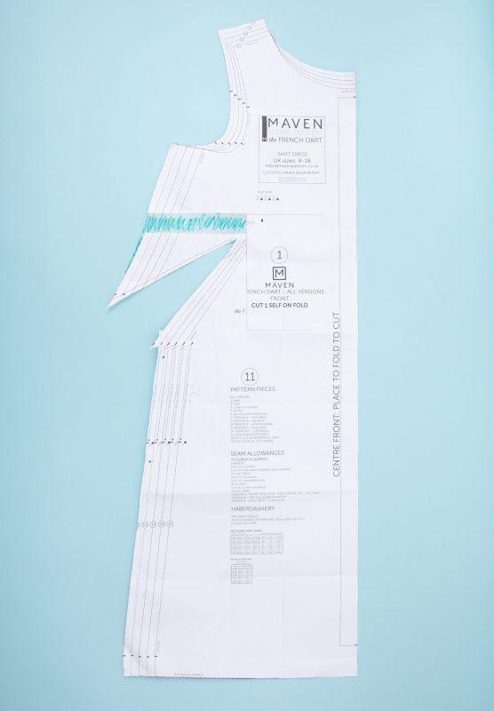 Maven Patterns French Dart Shif