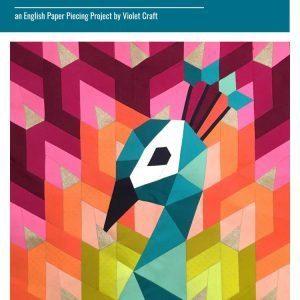 Peacock English Paper Piecing Pattern