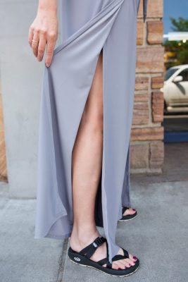 Christine Jonson Wrap Pants Side Seam