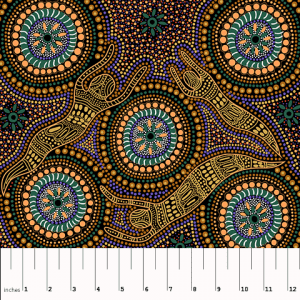 Aboriginal Winter Spirits QC in Yellow