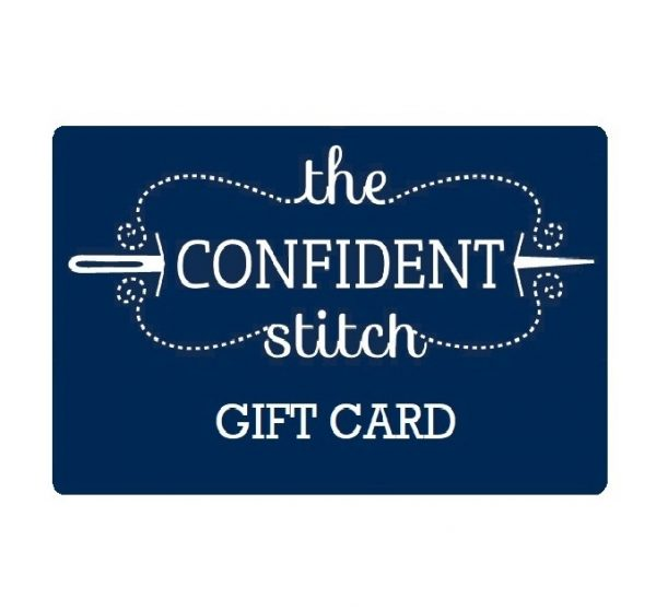 sewing gift card