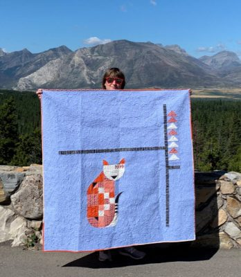 Posh Kitty Quilt in Waterton!