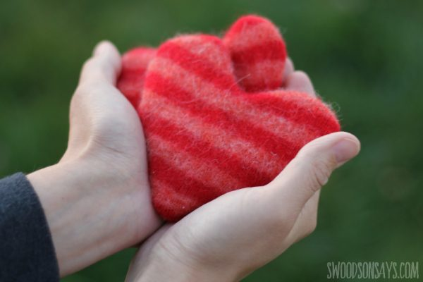 Scrappy Wool Handwarmers from Swoodson Says!